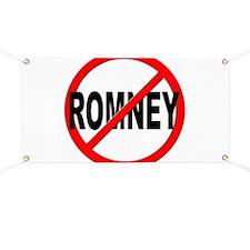 Anti / No Romney Banner