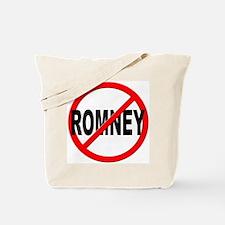 Anti / No Romney Tote Bag