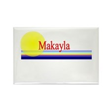 Makayla Rectangle Magnet