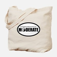 Moderate Beetle O - BW Tote Bag