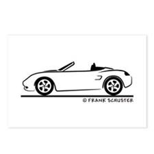 Porsche 986 Boxster Postcards (Package of 8)