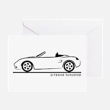 Porsche 986 Boxster Greeting Card