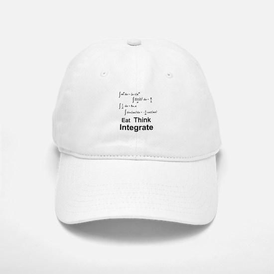Eat. Think. Integrate. Baseball Baseball Cap