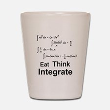 Eat. Think. Integrate. Shot Glass