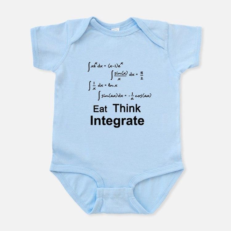 Eat. Think. Integrate. Onesie