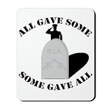 Remember the Fallen. Mousepad