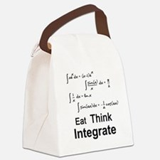 Eat. Think. Integrate. Canvas Lunch Bag