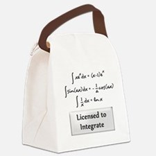 Licensed to Integrate Canvas Lunch Bag