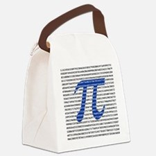 1000 Digits of Pi Canvas Lunch Bag