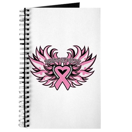 Breast Cancer Heart Wings Journal