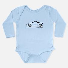 Porsche 986 Boxster Top Long Sleeve Infant Bodysui