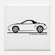 Porsche 986 Boxster Top Tile Coaster