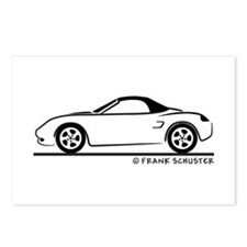 Porsche 986 Boxster Top Postcards (Package of 8)