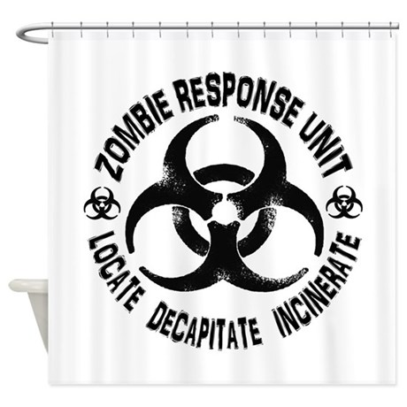 Response Unit Shower Curtain