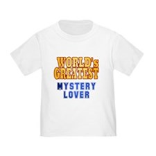 World's Greatest Mystery Lover T