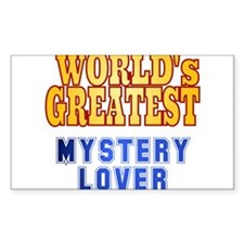 World's Greatest Mystery Lover Decal