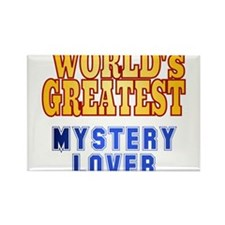 World's Greatest Mystery Lover Rectangle Magnet