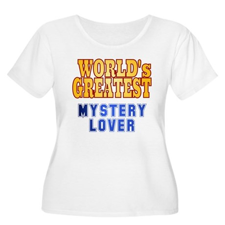 World's Greatest Mystery Lover Women's Plus Size S