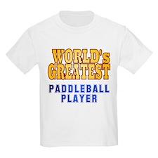 World's Greatest Paddleball Player T-Shirt