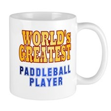 World's Greatest Paddleball Player Mug