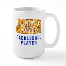 World's Greatest Paddleball Player Mug