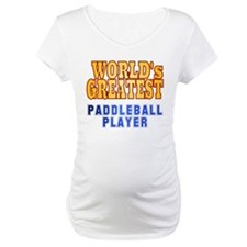 World's Greatest Paddleball Player Shirt