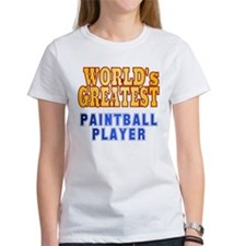 World's Greatest Paintball Player Tee