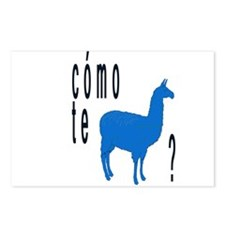 Como te llamas Postcards (Package of 8)