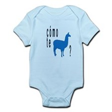 Como te llamas Infant Bodysuit