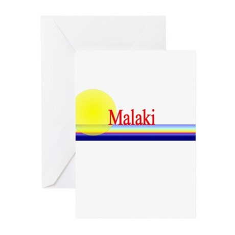 Malaki Greeting Cards (Pk of 10)