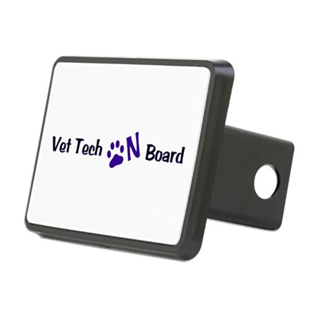 Vet Tech On Board 33 Rectangular Hitch Cover