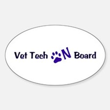 Vet Tech On Board 33 Decal