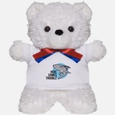 Shark- Here comes trouble Teddy Bear