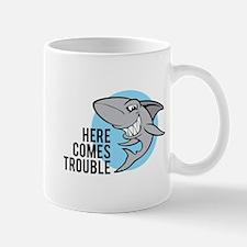 Shark- Here comes trouble Mug
