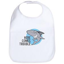 Shark- Here comes trouble Bib