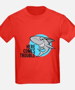 Shark- Here comes trouble T