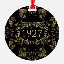 Established 1927 Ornament
