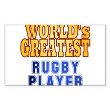 World's Greatest Rugby Player Decal