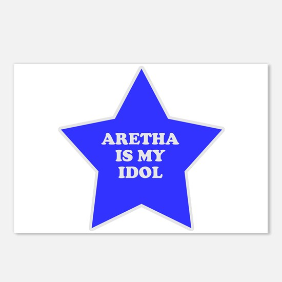 Aretha Is My Idol Postcards (Package of 8)