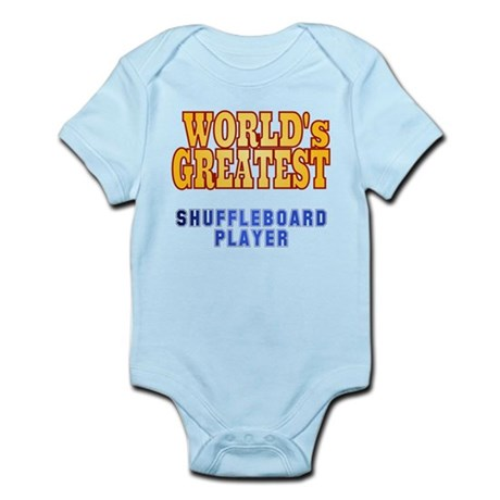 World's Greatest Shuffleboard Player Infant Bodysu