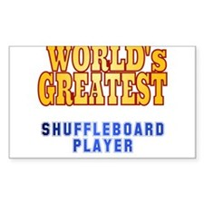World's Greatest Shuffleboard Player Decal