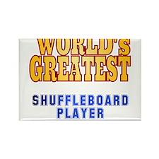 World's Greatest Shuffleboard Player Rectangle Mag