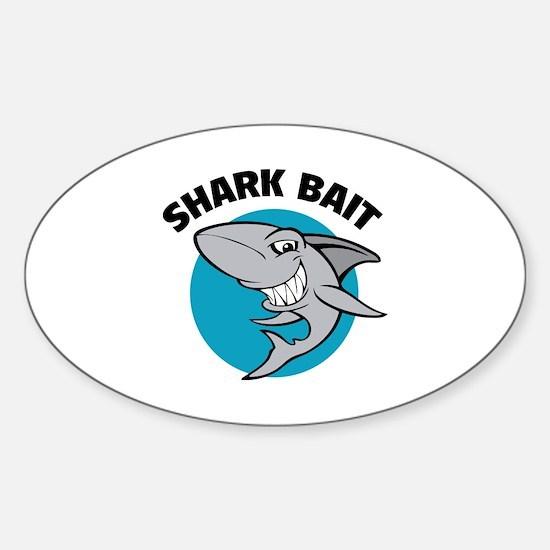 Shark bait Sticker (Oval)