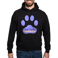Vet Tech Paw 22 Hoodie