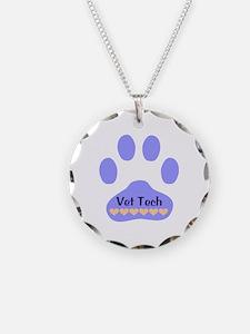 Vet Tech Paw 22 Necklace