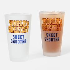 World's Greatest Skeet Shooter Drinking Glass
