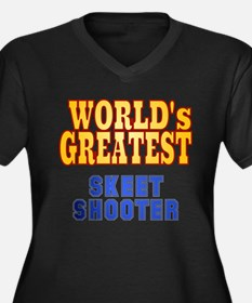 World's Greatest Skeet Shooter Women's Plus Size V