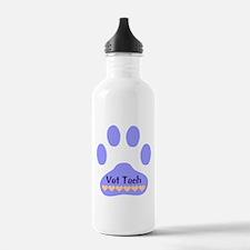 Vet Tech Paw 22 Water Bottle