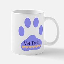 Vet Tech Paw 22 Mug