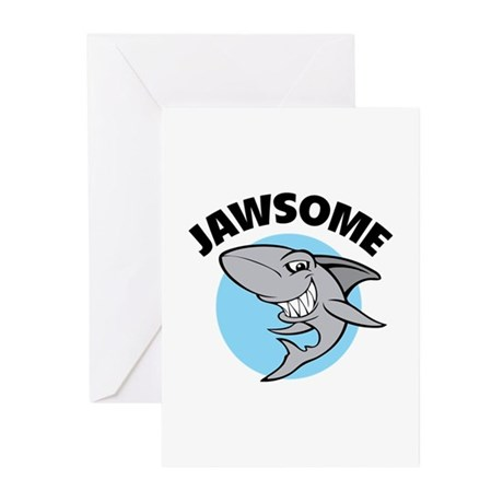 Jawsome Greeting Cards (Pk of 20)